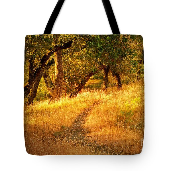 The Late Afternoon Walk Tote Bag