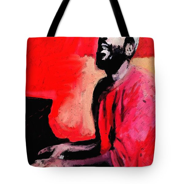 The Late Great Marvin Gaye Tote Bag by Vannetta Ferguson