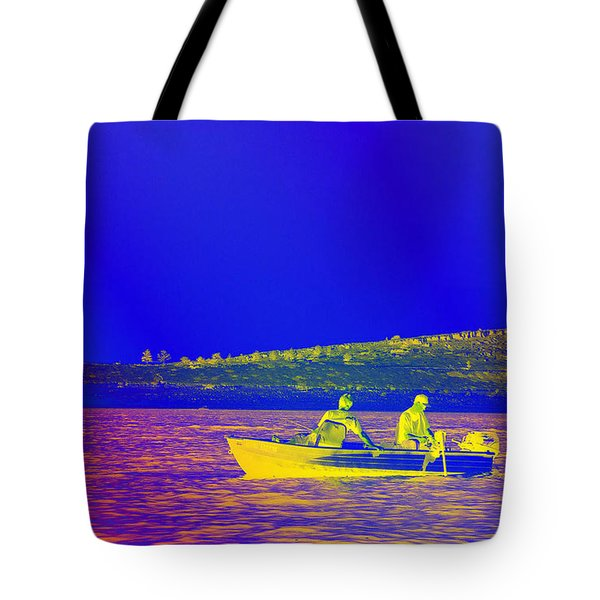 Tote Bag featuring the photograph The Lazy Sunday Afternoon by David Pantuso