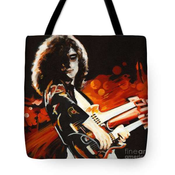Stairway To Heaven. Jimmy Page  Tote Bag