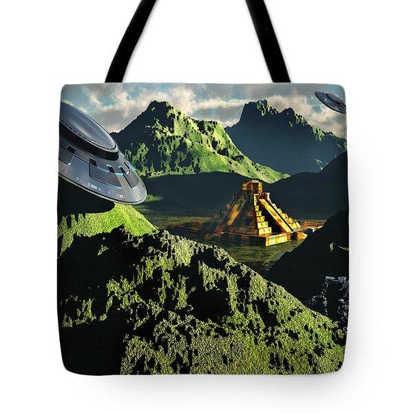 The Legendary South American Golden Tote Bag by Mark Stevenson