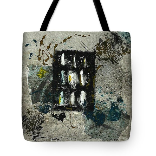 Tote Bag featuring the painting The Letter by Lesley Fletcher