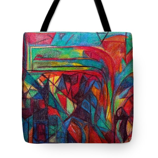 The Letter Raish Tote Bag by David Baruch Wolk
