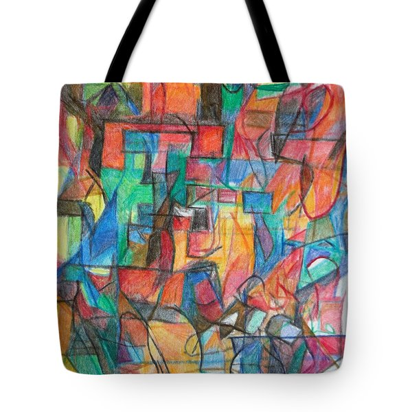 The Letter Tav 2 Tote Bag by David Baruch Wolk