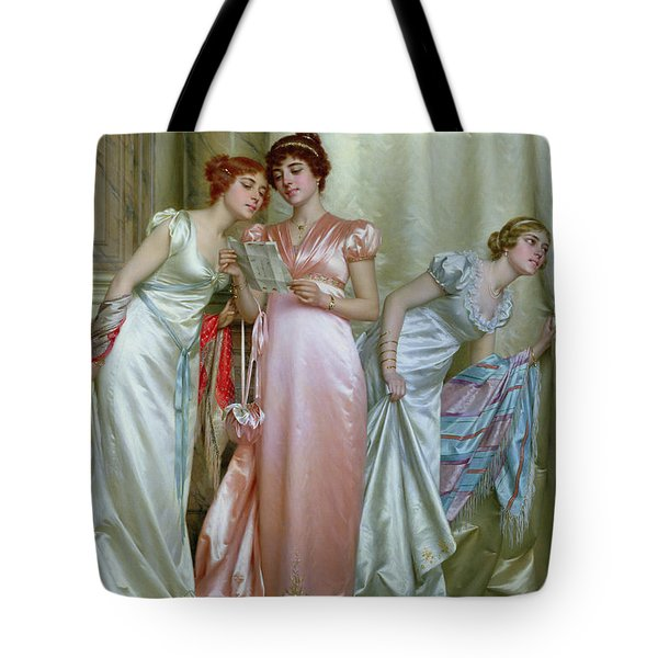 The Letter Tote Bag by Vittorio Reggianini