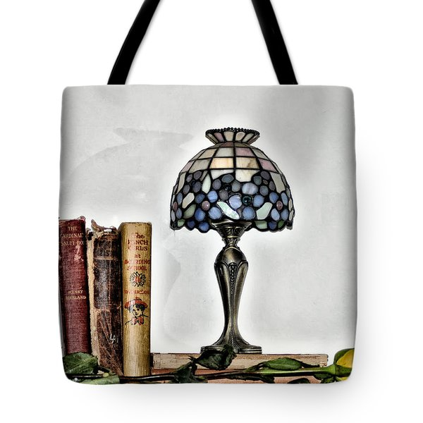 The Library Tote Bag by Bill Cannon