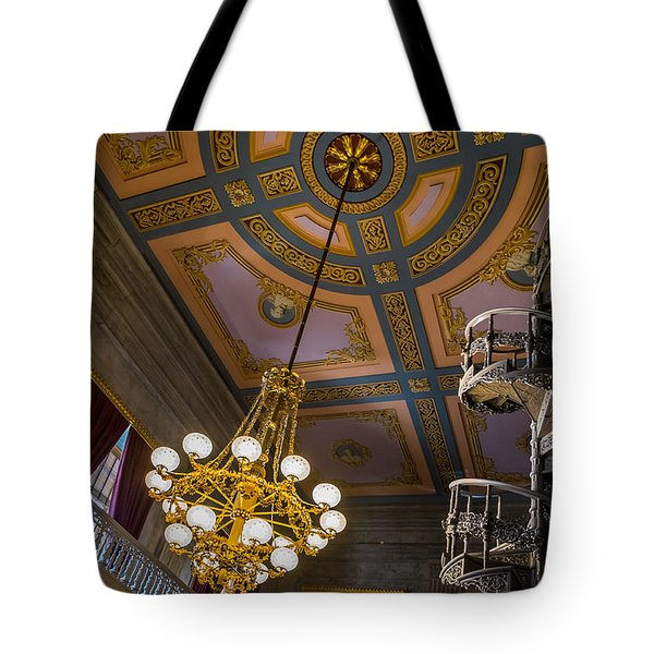 Tote Bag featuring the photograph The Library by Glenn DiPaola
