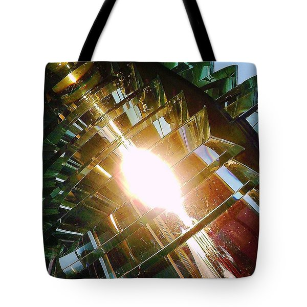 Tote Bag featuring the photograph The Light by Daniel Thompson