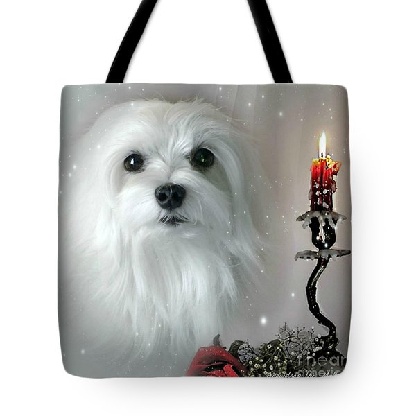 The Light In My Life Tote Bag by Morag Bates