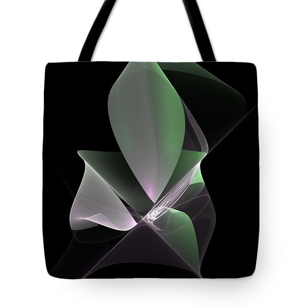 Tote Bag featuring the digital art The Light Inside by Gabiw Art