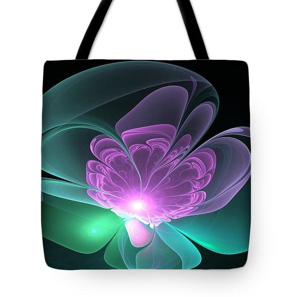 The Light Inside  Tote Bag by Svetlana Nikolova