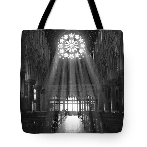 The Light - Ireland Tote Bag