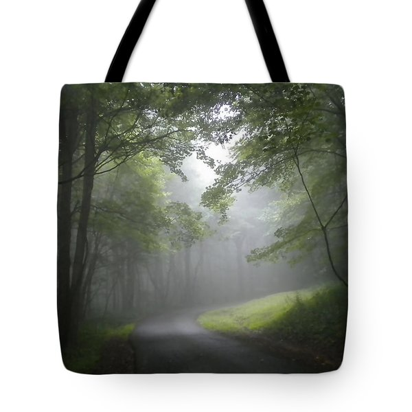 Tote Bag featuring the photograph The Light Leading Home 2 by Diannah Lynch