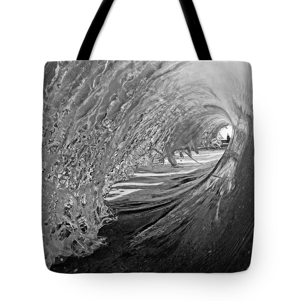 The Lighthouse At The End Of The Tunnel Tote Bag