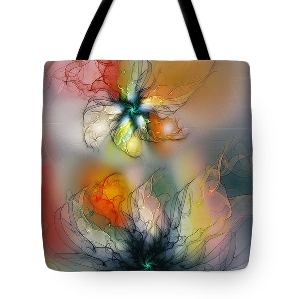 The Lightness Of Being-abstract Art Tote Bag