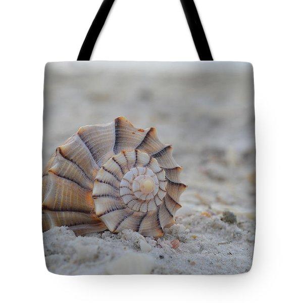The Lightning Whelk Tote Bag by Melanie Moraga