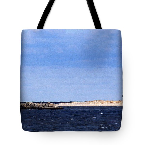 The Lights Of Lewes Tote Bag by Skip Willits