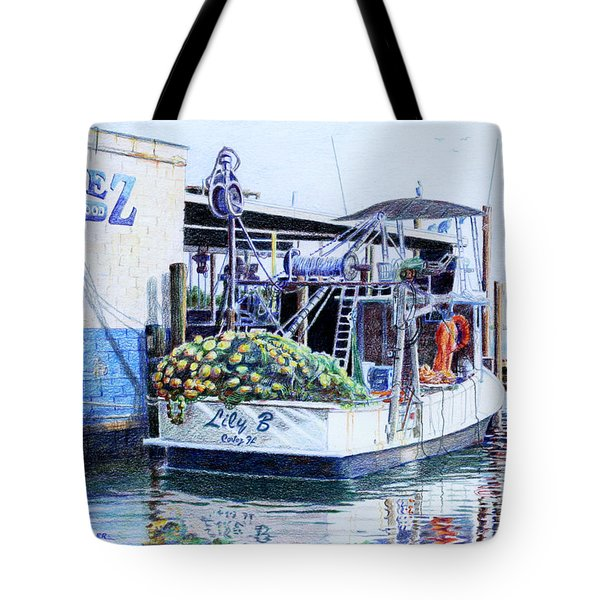 The Lily B Tote Bag by Roger Rockefeller