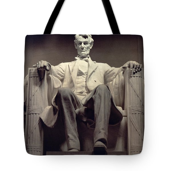 The Lincoln Memorial Tote Bag by Daniel Chester French
