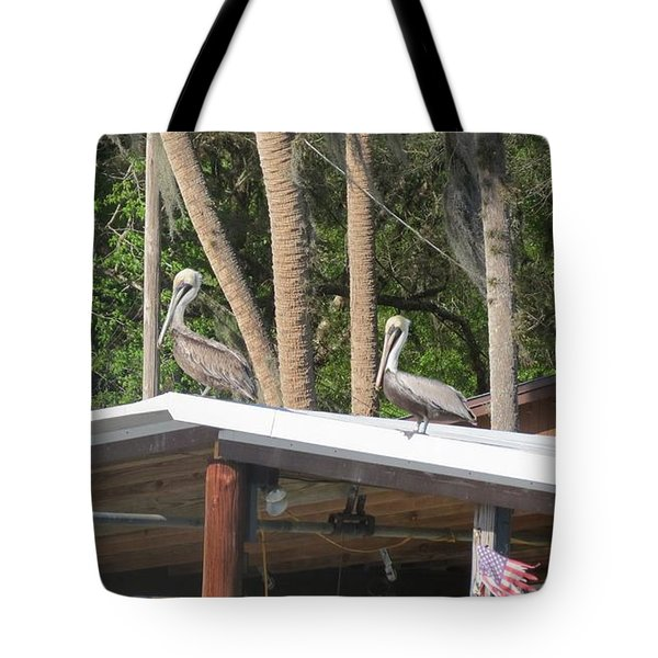 Tote Bag featuring the photograph The Lineup by Fortunate Findings Shirley Dickerson
