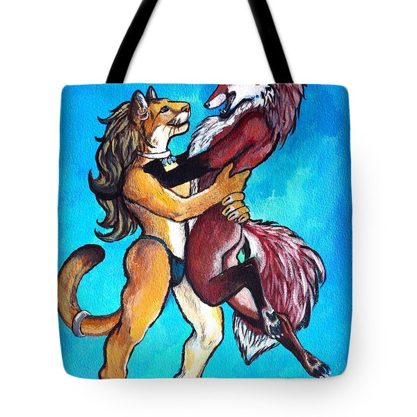 The Lion And The Fox Tote Bag