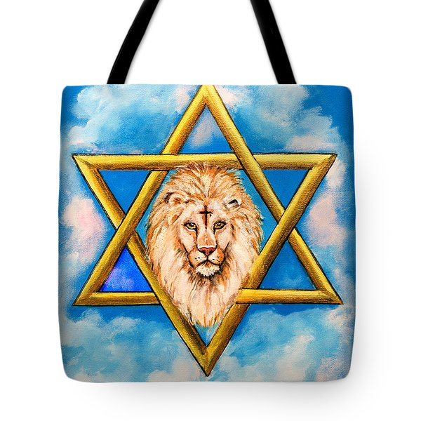 The Lion Of Judah #5 Tote Bag