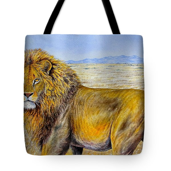 The Lion Rules Tote Bag