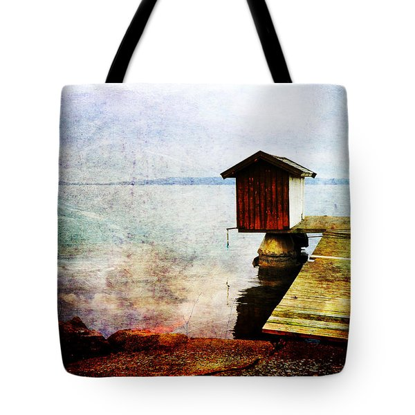 The Little Bath House Tote Bag