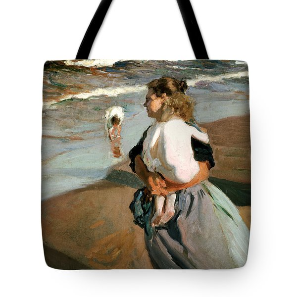The Little Granddaughter Tote Bag