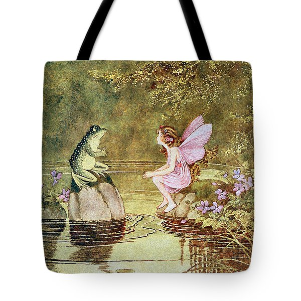 The Little Green Road To Fairyland  Tote Bag