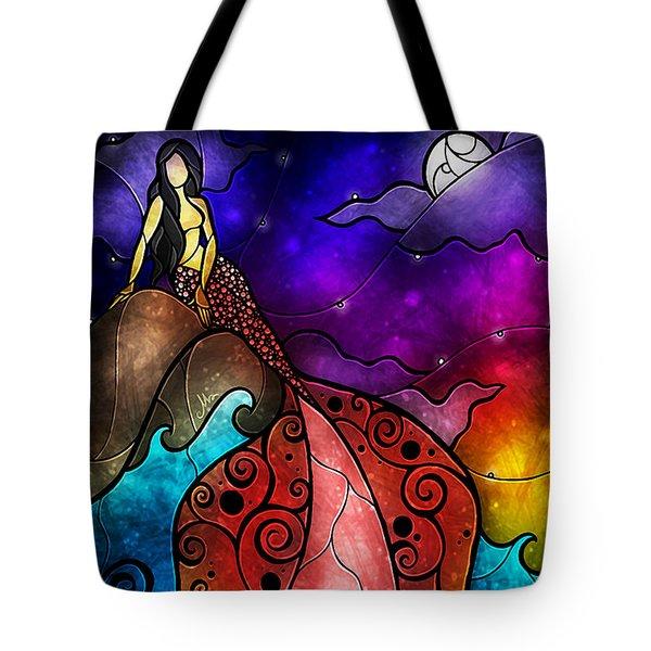 The Little Mermaid Tote Bag by Mandie Manzano