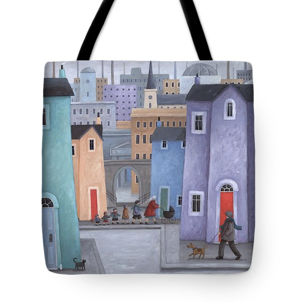 The Little Ones Tote Bag by Peter Adderley