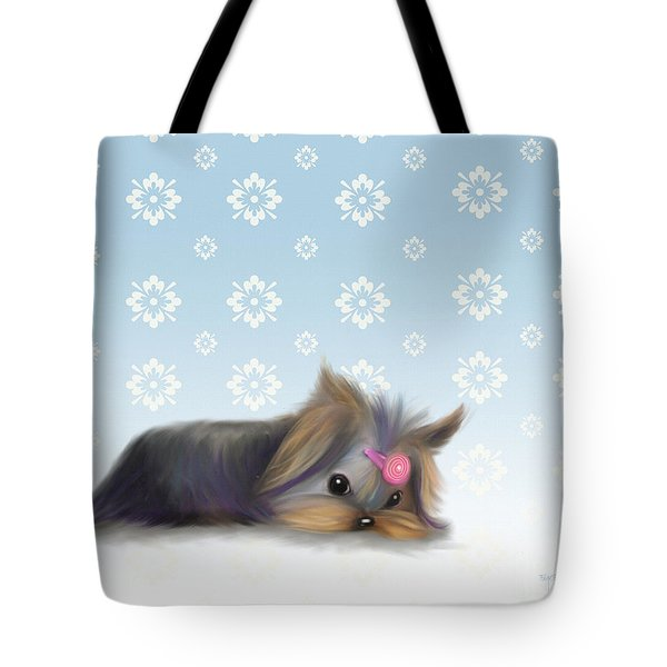 The Little Thinker  Tote Bag by Catia Cho