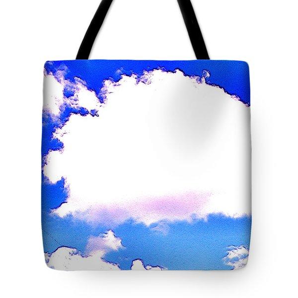 The Little White Cloud That Cried Tote Bag by Sadie Reneau