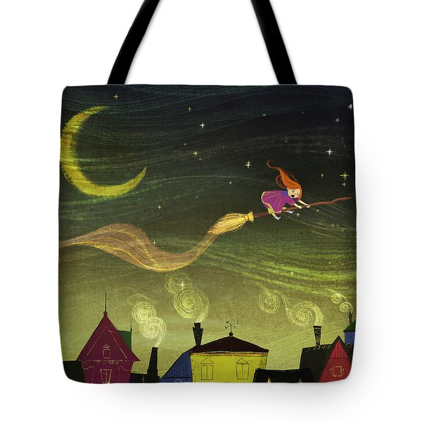 The Little Witch Tote Bag