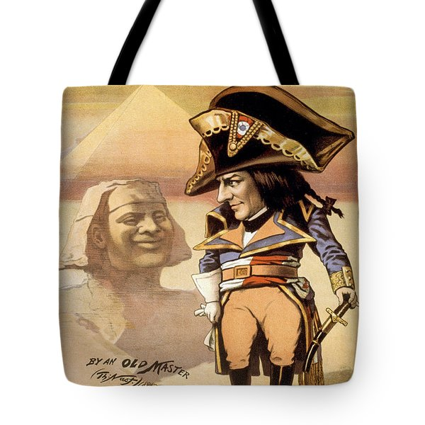 The Littler Corporal Tote Bag by Aged Pixel