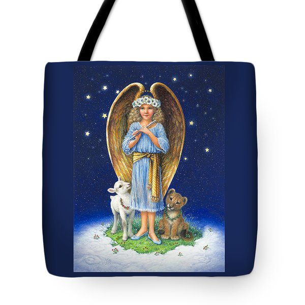 The Littlest Angel Tote Bag
