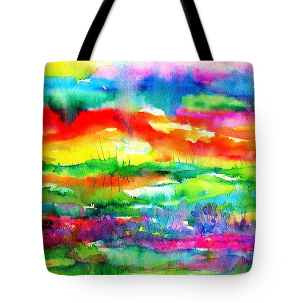 The Living Desert Tote Bag
