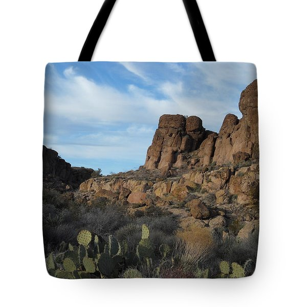 The Living Desert Of Arizona Tote Bag