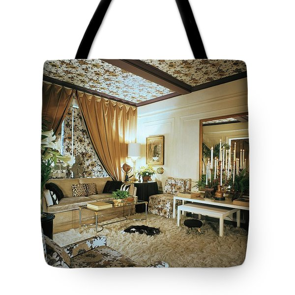 The Living Room Of Leoda De Mar's Home Tote Bag