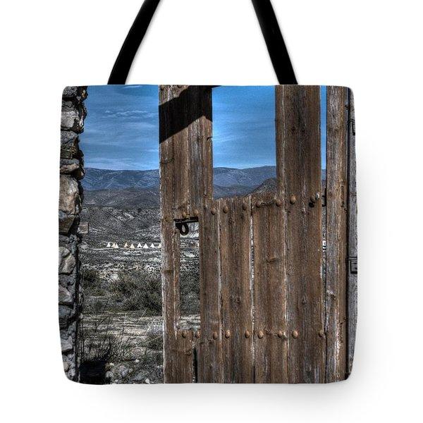 The Lockless Door Tote Bag by Heiko Koehrer-Wagner