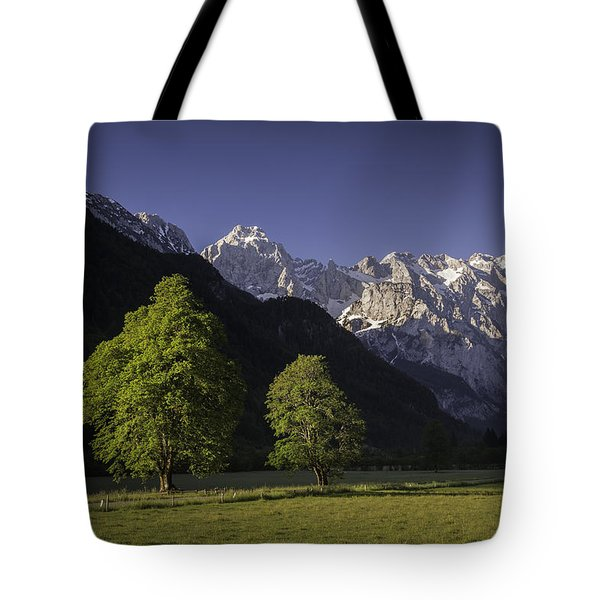 the Logar valley Tote Bag