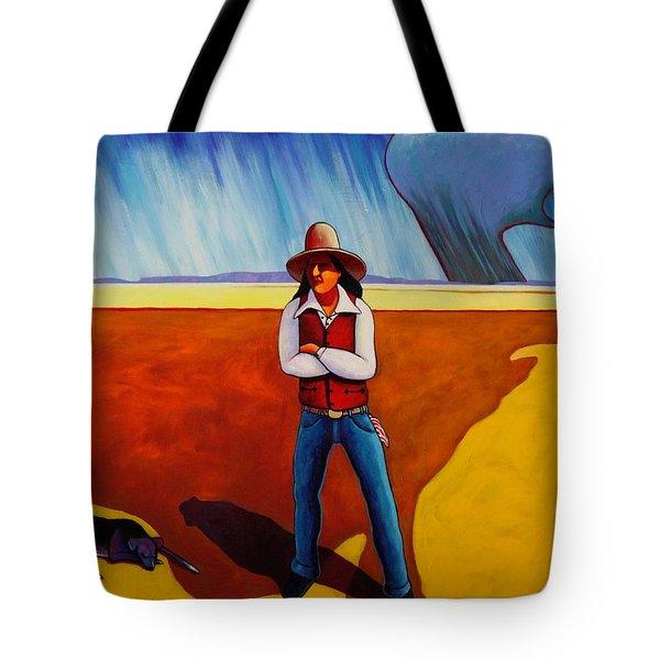 The Logic Of Solitude Tote Bag by Joe  Triano