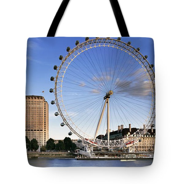 The London Eye Tote Bag by Rod McLean