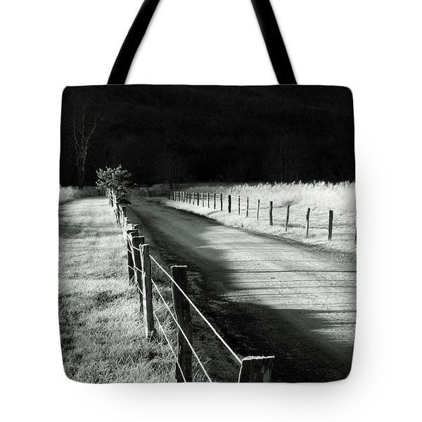 The Lone Photographer Tote Bag by Douglas Stucky
