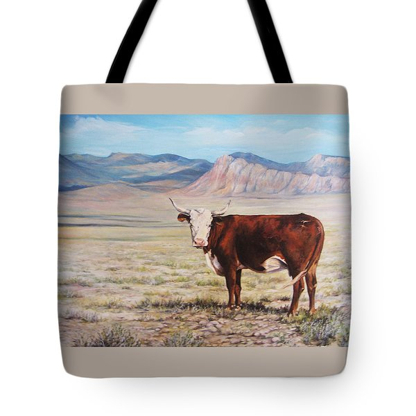 The Lone Range Tote Bag by Donna Tucker