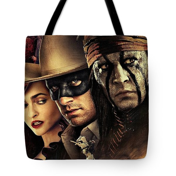 The Lone Ranger Tote Bag by Movie Poster Prints
