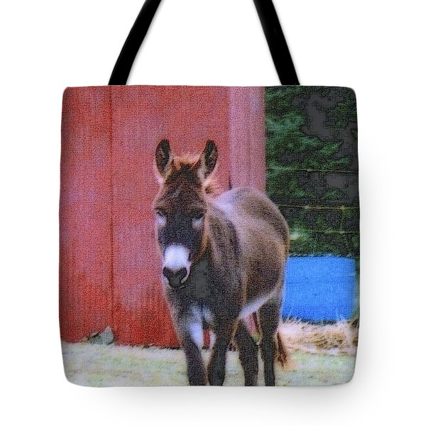 The Lonely Donkey Tote Bag by Kay Novy