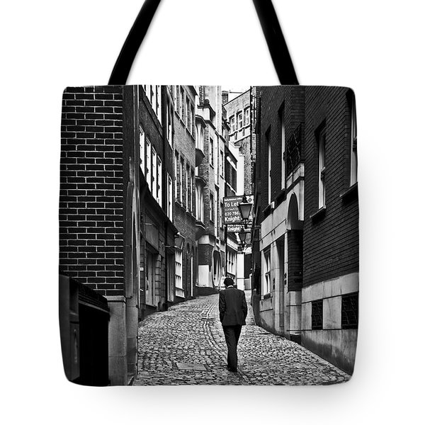 The Lonely Walk Tote Bag