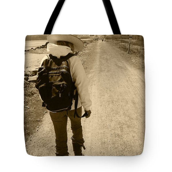 The Long And Winding Road Tote Bag by Kym Backland
